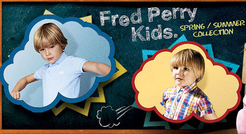 Fred Perry Kids Summer 2012