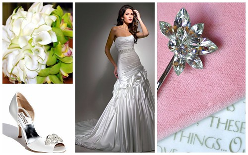{Modern + Sparkle} Bridal Style by Nina Renee Designs