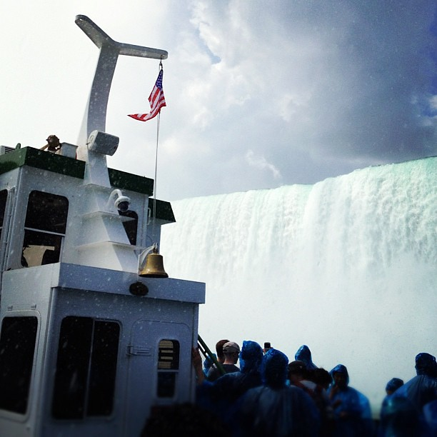 On the Maid of the Mist