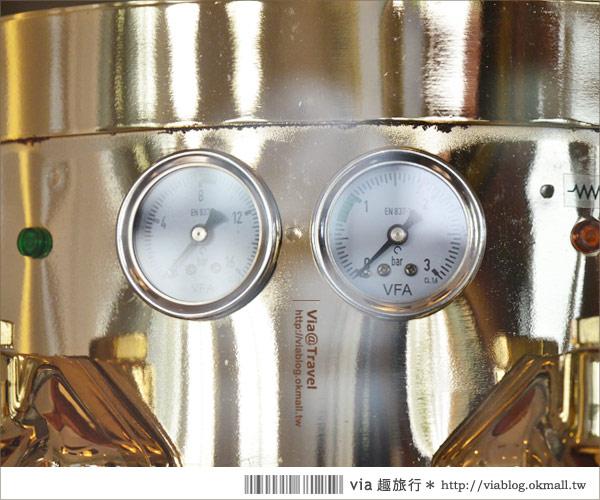 【彰化大村】進昌咖啡烘焙館~田園中的黃色歐式城堡!7