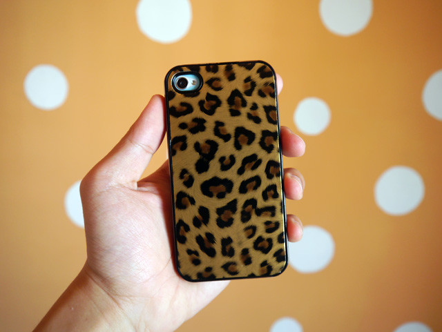 leopard prints iphone cover