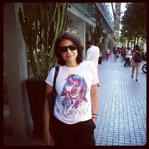 Camiseta da madona 2012