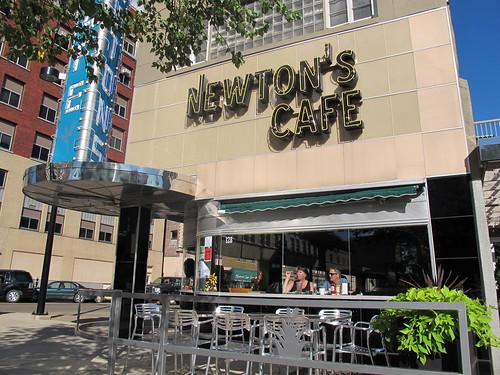 Newton's Cafe in Waterloo, IA