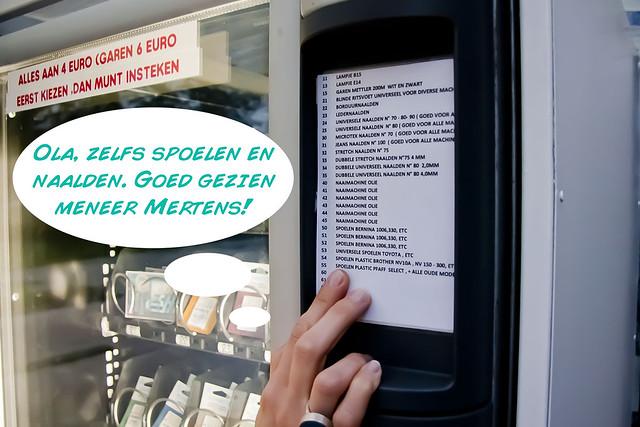 Natuurlijk, de naaiautomaat! 7