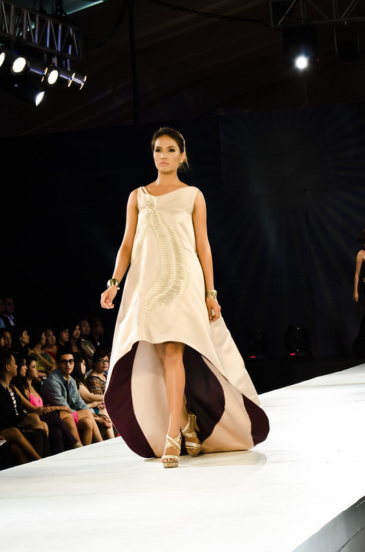 One of Milka's designs for The Final Runway