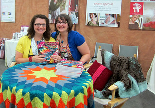 robyn c + me at the book signing