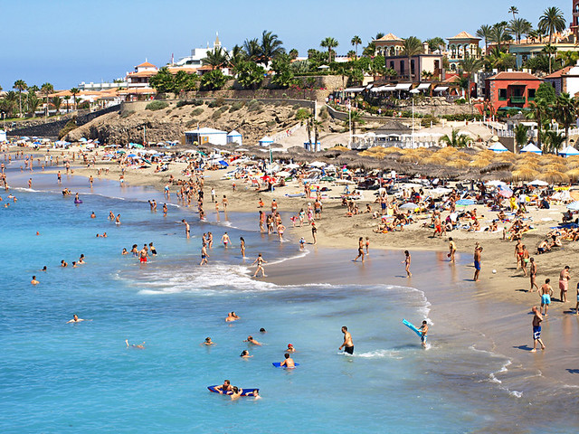Playa del Duque, Costa Adeje, Tenerife  Flickr - Photo Sharing!