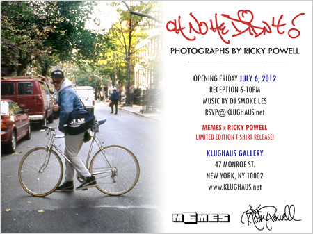 Ricky Powell x Memes Show by VLNSNYC