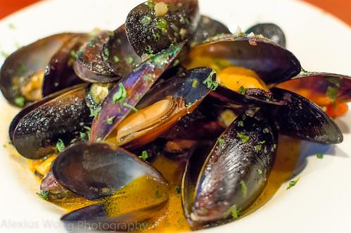 Mussels a la Romana