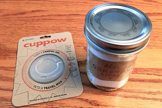 Cuppow Lid Topper | Canning Jar Travel Mug