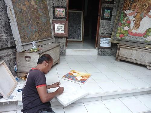 Bali-Villages d'artisans-Batuan (1)