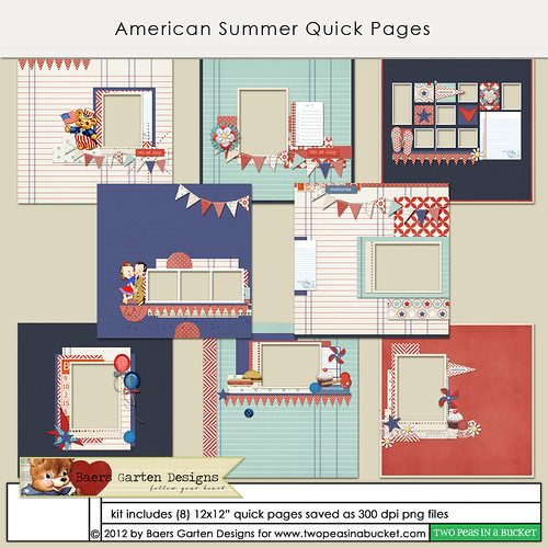 American Summer quick pages