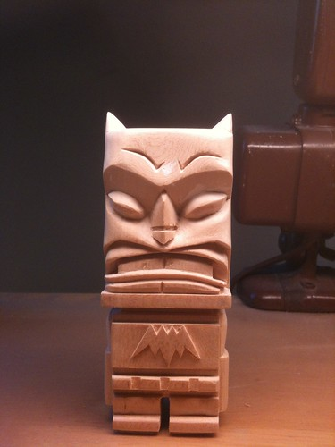 Bat Tiki by Jason Dryg