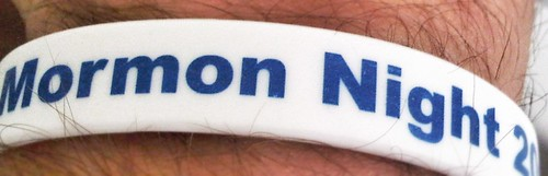 Mormon Night at Dodger Stadium Wristband