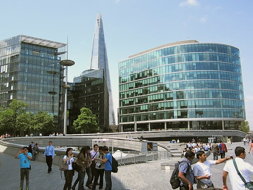 The Shard, viewed from City Hall