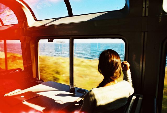 grace on a train