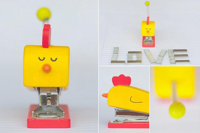 meet my pet stapler