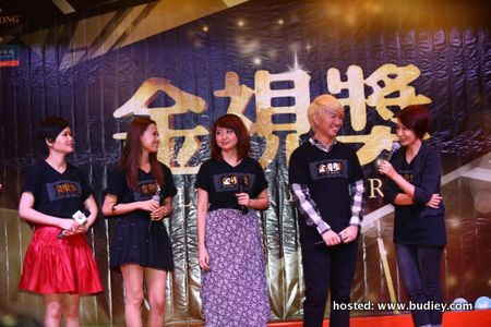 Best Variety and Entertainment Programme Host Nominees (L-R) - Chan Wei Wei, Natalie Ng, Cheryl Lee, Gary Yap, Jia Hui