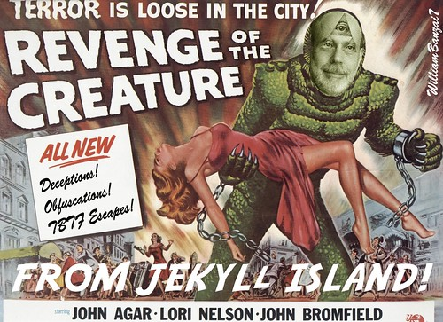 REVENGE OF THE CREATURE by Colonel Flick