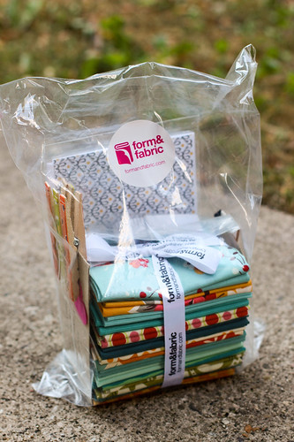 Form and Fabric Goodie Bag by Jeni Baker
