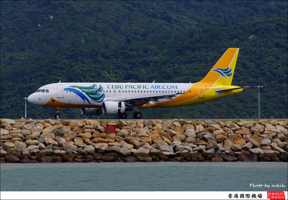 Cebu Pacific Air / RP-C3242 / Hong Kong International Airport
