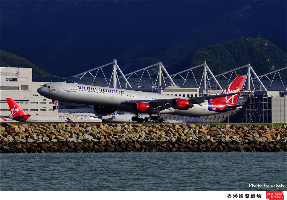 Virgin Atlantic Airways / G-VFOX / Hong Kong International Airport