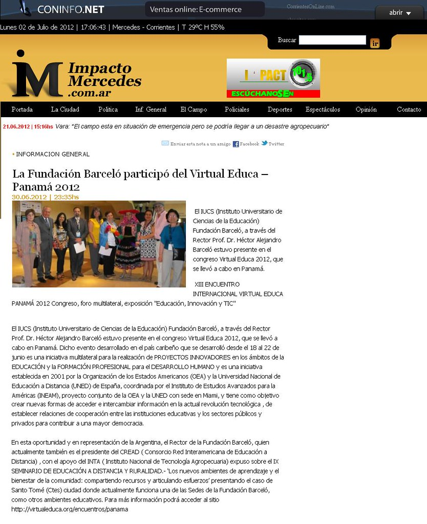 Impacto Mercedes - Virtual Educa - 30.06.12