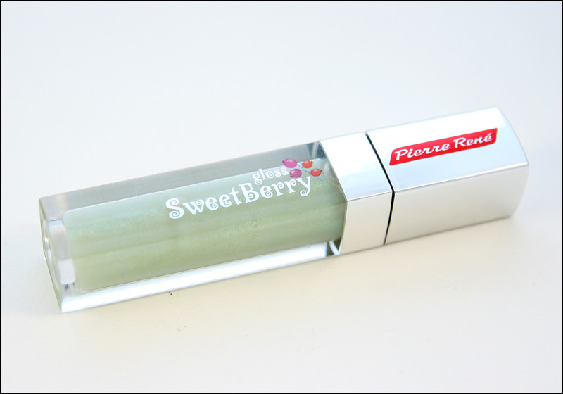 Pierre René satin sky sweetberry gloss