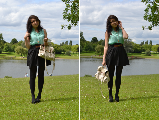 daisybutter - UK Style and Fashion Blog: what i wore, sponsored, j crew hello world campaign, ootd, wiwt, zara
