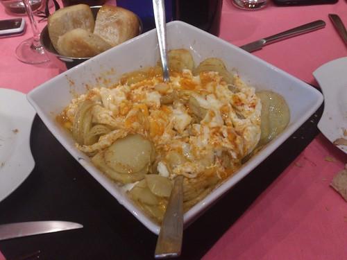 Zaragoza | La Piedra | Huevos rotos