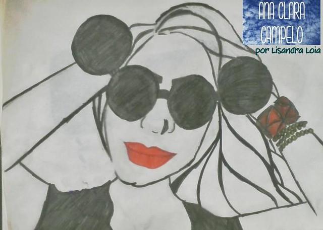 Ana Clara Campelo -Desenho por Lisandra Loia