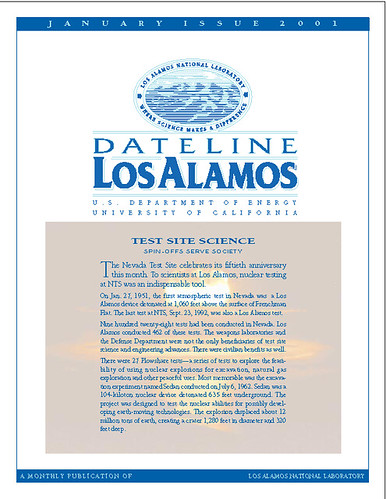 Dateline Los Alamos January 2001