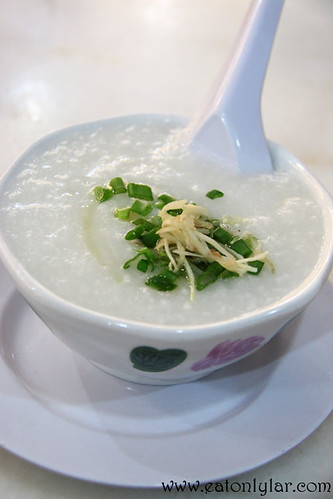 Thousand Year Egg and Pork Congee, Restoran Jin Xuan Hong Kong Sdn Bhd