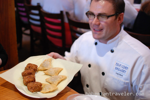 Chef David at Blue Corn