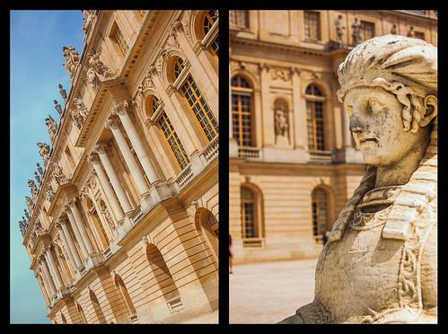 Versailles Castle - Garden facade