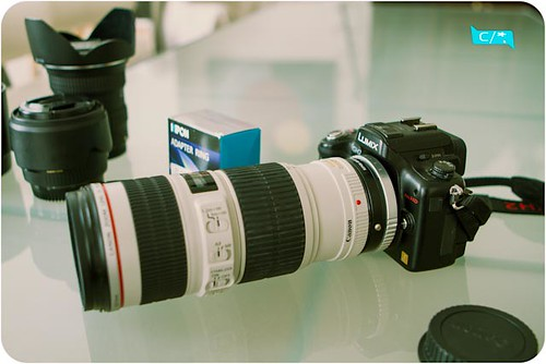 Adapter Kipon EOS - M4/3