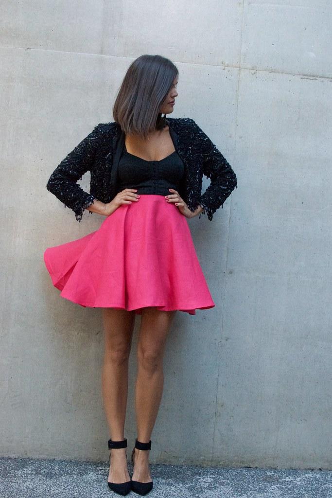 diy circle skirt 11