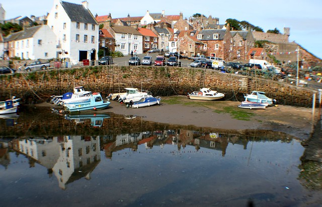 Crail Harbour, Fife Coast