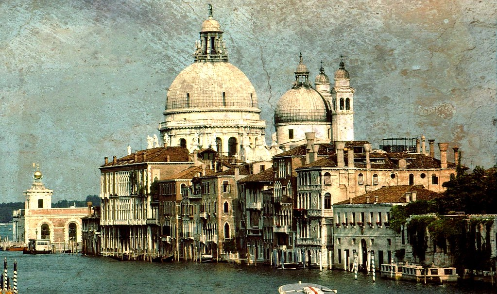 ITALY , Venedig - San Maria d. Salute - 50-37/1355