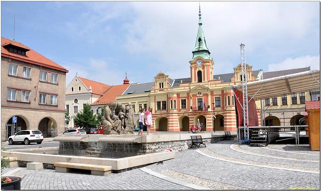 Zámek Mělník. Czech Republic