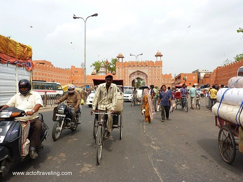 On the streets of Jaipur