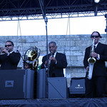 Newport Folk Fest 2012: Pres Hall Jazz Band