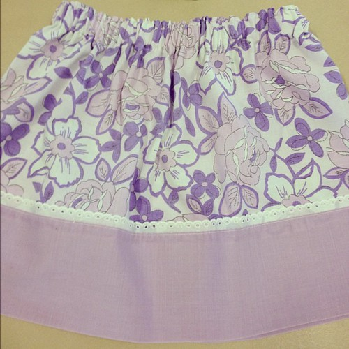 Pillow case skirt #craftapalooza