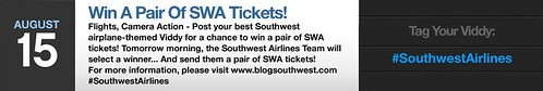 Win A Pair of SWA Tickets