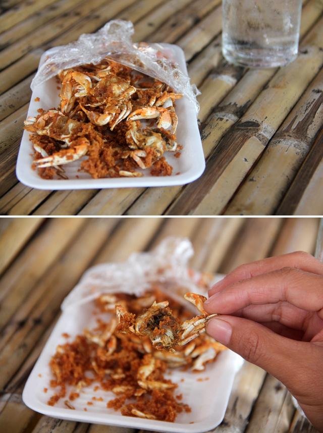 crispy crab