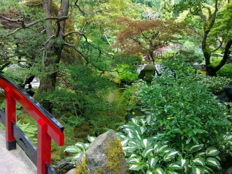 Japanese garden en jardines Butchart Canada 32