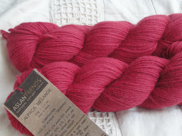 Stash Yarn: Aslan Trends Alpaca