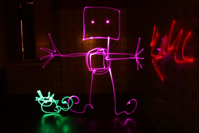 artists play with light-YAPWILLI