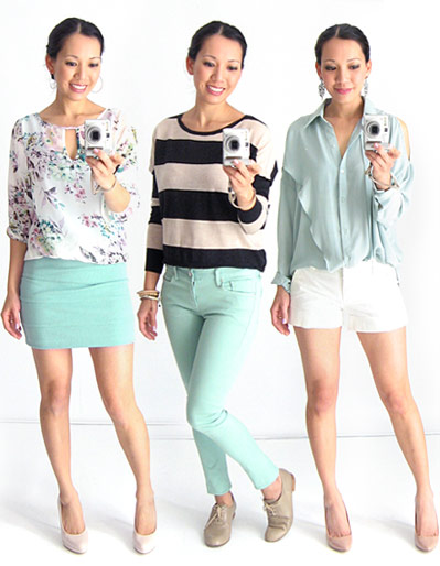 3 Ways to Wear Mint