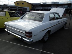 automobile, automotive exterior, vehicle, full-size car, ford xy falcon gt, sedan, land vehicle,